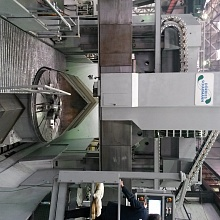 SITEK has successfully completed works on capital repair and modernization of the multifunctional vertical boring and turning machine with storage unit of model VC 2400/200 manufactured by DORRIES SCHARMANN